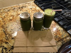 Simple juicing hacks green juice in mason jars